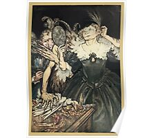 Comus Illustrated by Arthur Rackham 1921 0037 Mirror Poster
