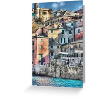 Boccadasse Greeting Card