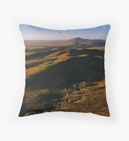 Mt Balfour & The Norfolk Range, Tarkine Landscape, NW Tasmania Throw Pillow