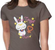 Venus Tough Bun Womens Fitted T-Shirt
