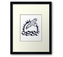 The Pirate's Brand Framed Print