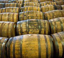 Whisky barrels by Jaime Pharr