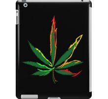 Crazy Marijuana Leaves iPad Case/Skin