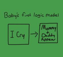 Baby's first logic model Baby Tee