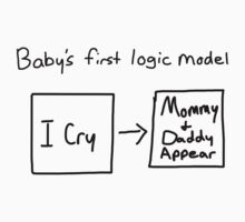Baby's first logic model One Piece - Short Sleeve