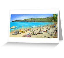 Noosa Beach  Greeting Card