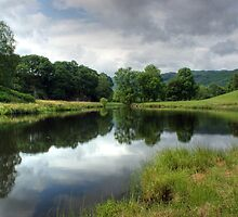 River Brathay in Summer by VoluntaryRanger