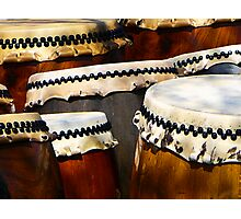 Japanese Drums Photographic Print