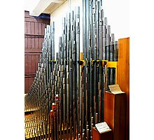 Pipe Organ Pipes Photographic Print