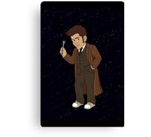 Tenth Doctor (Brown Suit) Canvas Print