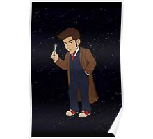 Tenth Doctor (Blue Suit) Poster