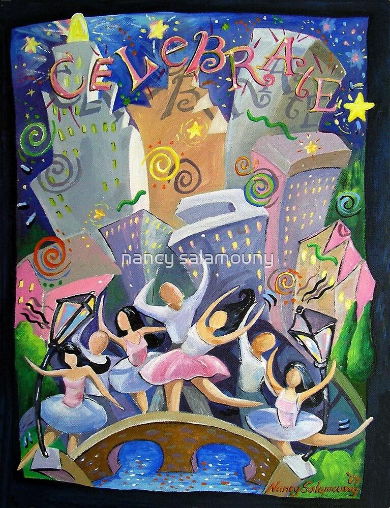 Celebrate...City at Night by nancy salamouny