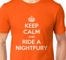 KEEP CALM and RIDE A NIGHTFURY Unisex T-Shirt