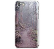 Mount Sutro, cloud forest, digital photography, landscape art iPhone Case/Skin