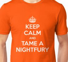 KEEP CALM and TAME A NIGHTFURY Unisex T-Shirt