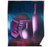 White Object Still Life Poster