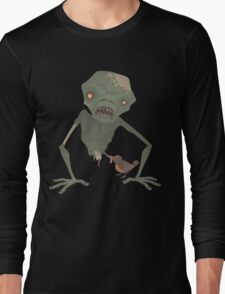Sickly Zombie Long Sleeve T-Shirt