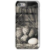 Farm Fresh Eggs iPhone Case/Skin