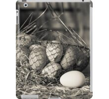 Farm Fresh Eggs iPad Case/Skin