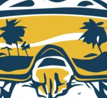 Beach Pooch Funny TShirt Epic T-shirt Humor Tees Cool Tee Sticker
