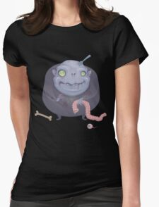 Blob Zombie Womens Fitted T-Shirt