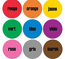 Colors BRIGHTS! French by candymoondesign