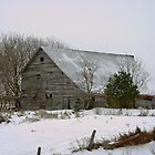 Barn On the Hill by Vickie Emms