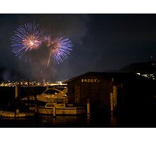 Gosford Fireworks Photographic Print
