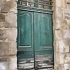 Green Doors by Eileen McVey