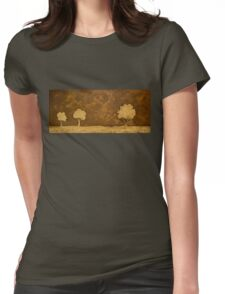 Tiger's Eye Three Womens Fitted T-Shirt
