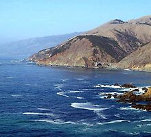 Big Sur Coast -- Looking Back on Bixby Bridge by olmik