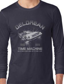 Delorean in Flight  Long Sleeve T-Shirt