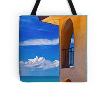Window to paradise  Tote Bag
