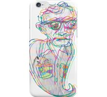 Woody Allen in a Ghostly Confusion  iPhone Case/Skin