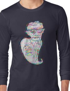 Woody Allen in a Ghostly Confusion  Long Sleeve T-Shirt