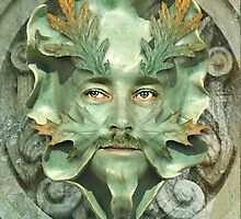 The GreenMan by Journeysinphoto