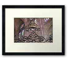 Crown of Gold, Notre Dame: Paris Framed Print