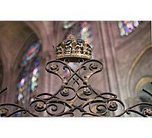 Crown of Gold, Notre Dame: Paris Photographic Print