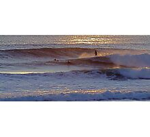Surfers  at  Carcavelos Photographic Print