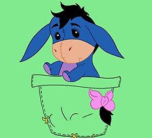 Pocket Eeyore by MissBMuffin