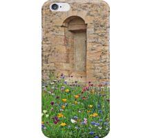 Courtyard in Burgandy iPhone Case/Skin