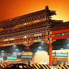 China  Beijing Airport Toll Gate by noelmiller
