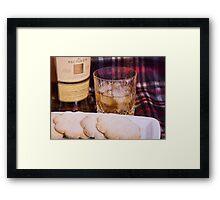 Happy Hogmanay Framed Print