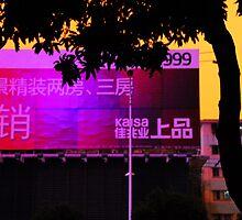 China  Beijing Billboard by noelmiller