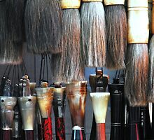China  Beijing Chinese Brushes by noelmiller