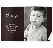 Cheer Up - Birthday Card Poster