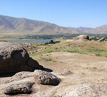 a historic Uzbekistan landscape by beautifulscenes