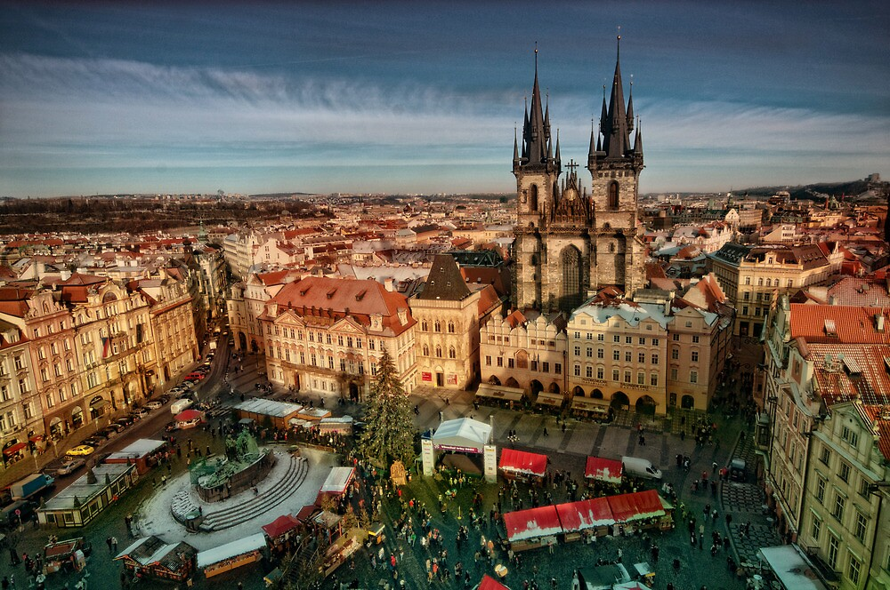 "Old Town Square, Prague, Czech Republic"" by Stevacek 
