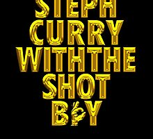 Steph Curry With The Shot Boy [With 3 Sign] Shiny Gold by OGedits