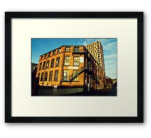 Who Says It's Grim Up North Framed Print